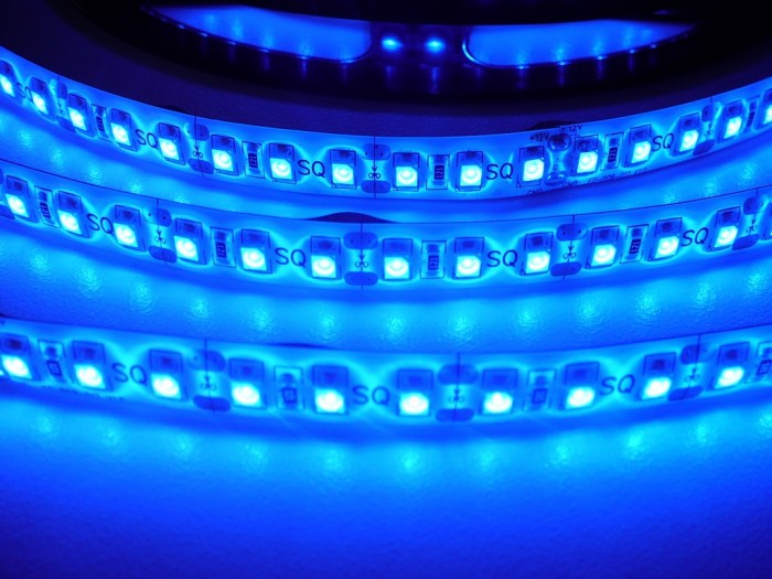 LED pásek zalitý SQ3-W600 - modrá