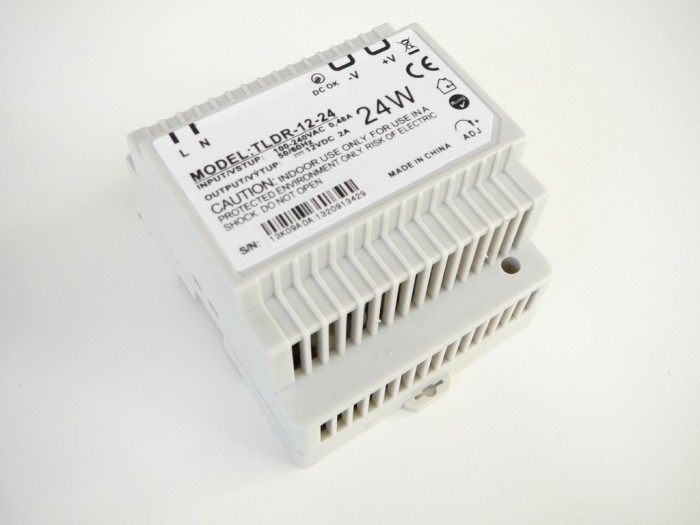 LED zdroj 12V 24W na DIN lištu