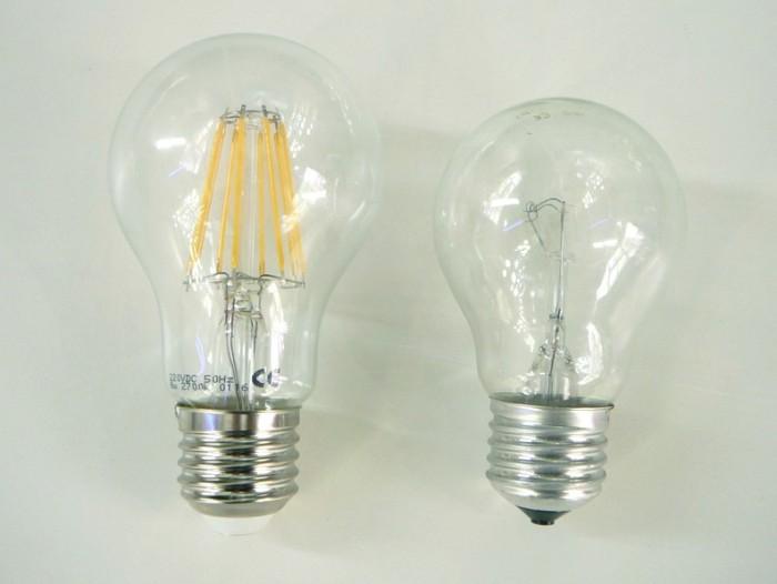 LED žárovka E27 8W FILAMENT teplá bílá