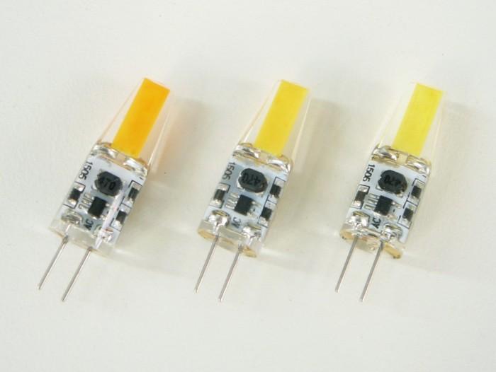 LED žárovka G4 COB3W denní bílá