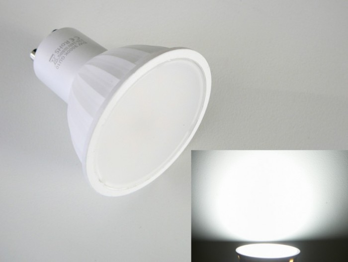 LED žárovka GU10 5W LUMENMAX Studená bílá