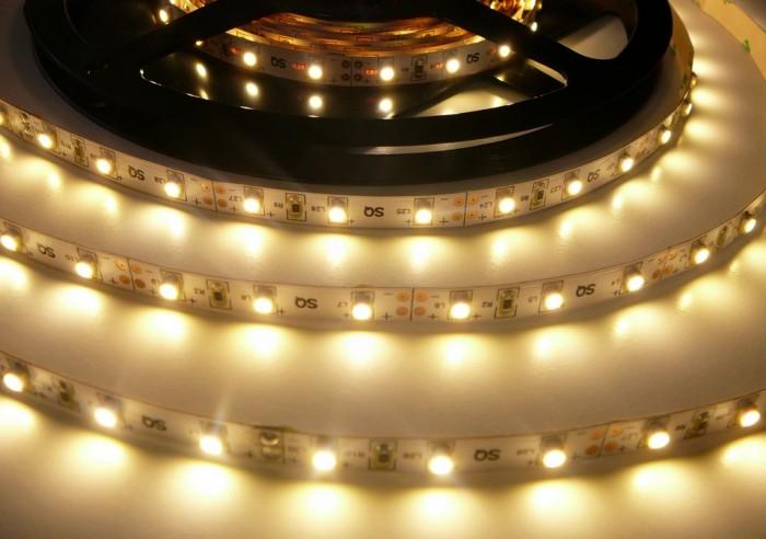 LED pásek 5m 4,8W ECONOMY vnitřní teplá bílá