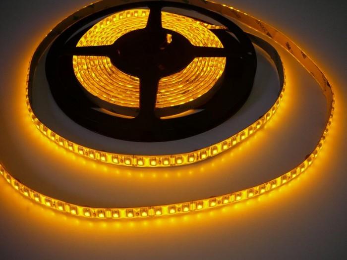 LED pásek vnitřní SQ3-600 - žlutá