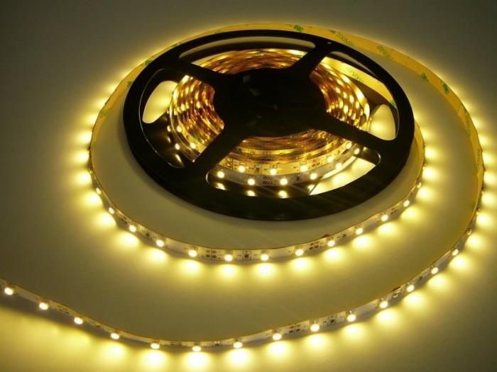 LED pásek 5m zalitý šíře 8mm SQ-W300SMD3 teplá bílá