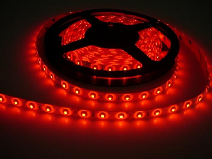 LED pásek zalitý SQ3-W300 červená