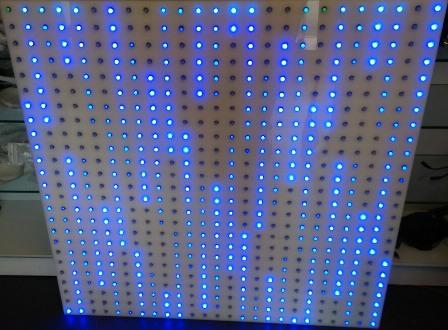 Světelná tabule 1000x1000mm Pixel